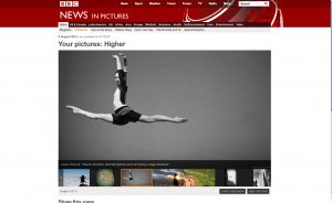 Kimberlly Giannelli on BBC News In Pictures section